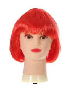 Red Bob Wig