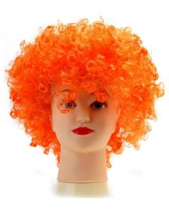 Orange Afro Wig