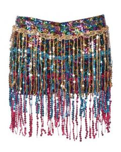 Rainbow Tassel Hotpants