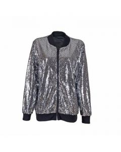 Silver Sequin Jacket