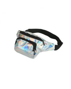 Silver Holographic Bum Bag