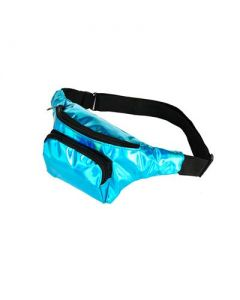 Turquoise Holographic Bum Bag