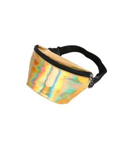 Gold Holographic Bum Bag