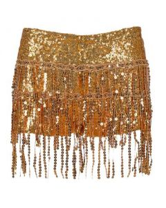 Gold Tassel Hotpants