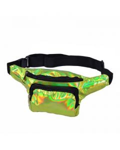 Green Holographic Bumbag