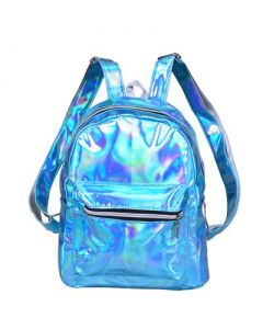 Holograohic Backpack Turquoise
