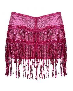 Pink Tassel Hotpants