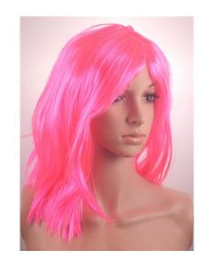 Pink shoulder bob