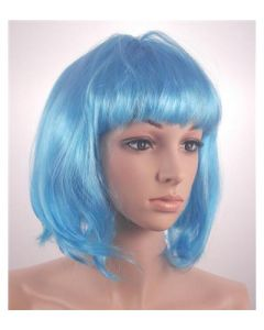 Turquoise bob wig