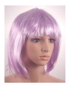 Lilac bob wig