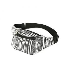Black and White Bum Bag