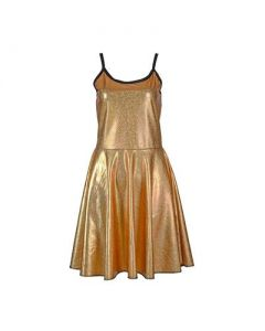 Gold Holographic Dress