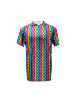 Rainbow Scale Men's T Shirt