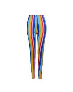 Leggings Rainbow Stripe