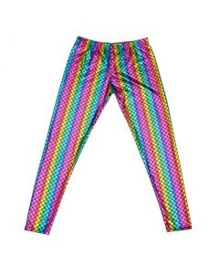 Rainbow Scale Men's Leggings