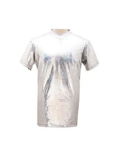 Silver Large Men's T Shirt