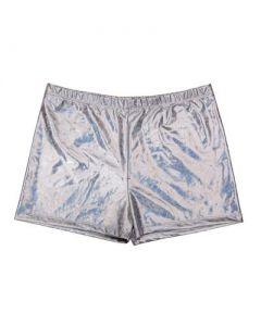 Silver Men's Shorts