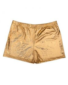 Gold Men's Hot Pants