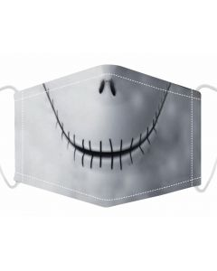 3 Layer, Adjustable Face Mask With Free Filters and Plush Packaging.  Stitch Mouth 2