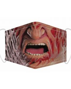 3 Layer Adjustable Face Mask With Freddy Print, Free Filters and Plush Packaging.