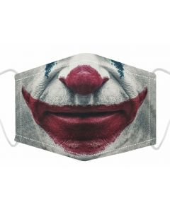 3 Layer, Adjustable Face Mask With Free Filters and Plush Packaging.  Joker 3