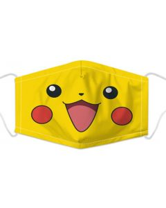 Anime Face Mask, 3 Layers, Adjustable Elastic, Free Filters and Plush Packaging.