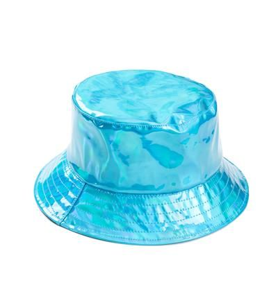 d682c85ad0ca2 PS Wholesale - Turquoise Holographic Bucket Hat
